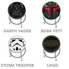 ThinkGeek :: Star Wars Bar Stools