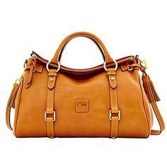 Dooney And Bourke Florentine Satchel Natural Kelly Bag Leather Handbags Bags
