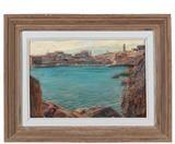 Montenegro, Frame, Home Decor, Painted Canvas, Contemporary Art, Auction, Homemade Home Decor, A Frame, Frames