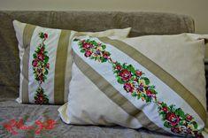 Kihnu Felt: Eski İşlemelerden Yeni Yastıklar / Making new pillows with old handworks
