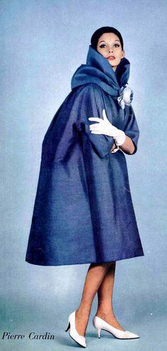 1960 lovely silk evening wrap by Pierre Cardin