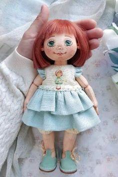Handmade Home, Handmade Soft Toys, Rag Dolls, Blythe Dolls, Girl Dolls, Doll Eyes, Doll Face, Fabric Toys, Doll Clothes Patterns
