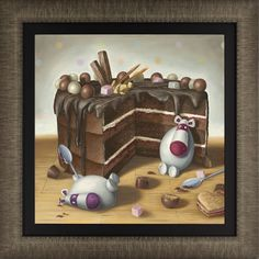 Peter Smith Let Them Eat Cake In stock