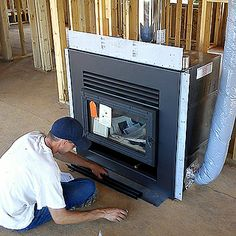 RSF, EPA Approved, Opel Wood Burning Fireplace by Southern Hearth, via Flickr Wood Burning, Hearth, Fireplaces, Stove, Southern, Home Appliances, Log Burner, Fireplace Set, House Appliances