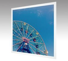 Photography Art Print Wonder Wheel Coney Island by theARTofSQUARE