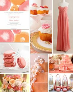 coral and peach wedding.001 — Wedding Ideas, Wedding Trends, and Wedding Galleries