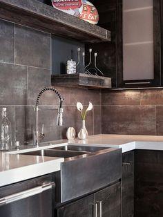 Выбираем модную и качественную плитку для кухни > 3D Кухни панорамы. Виртуальные туры.
