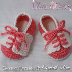 Free Crochet Baby Shoes Patterns | Baby Slippers Crochet Pattern for LITTLE SPORT by TheLovelyCrow