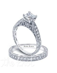 This ring reminds me of a cathedral. The structure. The scrollwork. Beautiful. Towering. Breathtaking. Completely impractical.