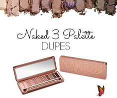 Naked Palette 3 Dupes - The Dumbbelle BEST Naked Palette 3 Dupes! I got the Lorac Unzipped, LOVE it! Ive been wanting to get the Coastal Scents palette ever since it first came out & these Silk Natural Pigments look dead on! I wanna try them! Hehe<br> Lately, I've noticed myself reaching for Urban Decay's Naked palette 3 all the time. These rose-hued soft pinks and brown neutrals are gorgeous; I'm obsessed! Coastal Scents Palette, Lorac Unzipped, Parent Tattoos, Naked Palette, Dupes, Diy Nails, Urban Decay, Neutral, Nail Art
