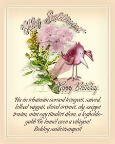 Születésnapi képeslapok idézettel Birthday Greetings, Happy Birthday, Blessed, Greeting Cards, Place Card Holders, Pictures, Google, Happy Brithday, Photos