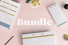 Printable Planner Bundle by The Template Depot on @creativemarket (affiliate) Business Brochure, Business Card Logo, Printable Planner, Printables, Stationery Templates, Stationery Design, Design Templates, Print Templates, Week Planner