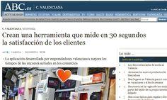 Crean una herramienta que mide en 30 segundos la satisfacción de los clientes  http://www.abc.es/local-comunidad-valenciana/20140824/abci-emprendedores-valencianos-201408241805.html