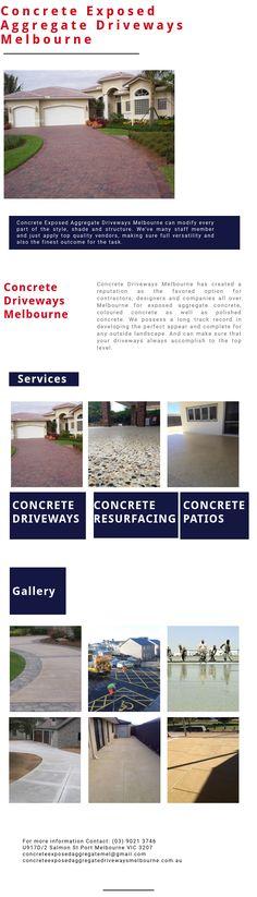 exposed aggregate concrete driveways melbourne