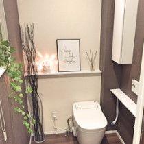 【壁紙】アクセントクロスの成功と失敗* | ほんとうに必要な物しか持たない暮らし◆Keep Life Simple◆〜インテリアのきろく〜 Keep Life Simple, Toilet, Flush Toilet, Toilets, Toilet Room, Bathrooms