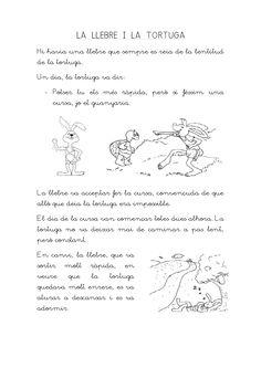 conte-la-llebre-i-la-tortuga by Lila  via Slideshare