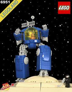 Lego, classic space set.