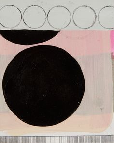 Ellipse- canvas wall art by Jennifer Sanchez for Wheatpaste Art Collective. $159, 24x30, available framed!
