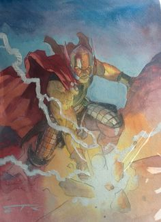 The Mighty Thor by Esad Ribic