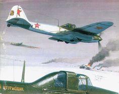 штурмовик Ил - 2