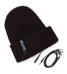 Hi-Hat - Knit Hat With Built In Headphones