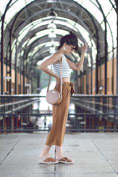 Meu look: pantalona curta – Moda Custom