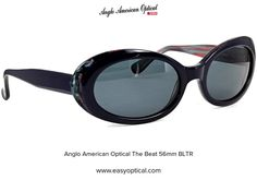 Anglo American Optical The Beat 56mm BLTR Beats, Sunglasses, American, Sunnies, Shades, Eyeglasses, Glasses