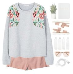 """""""160617"""" by rosemarykate ❤ liked on Polyvore featuring PLANT, Madewell, Prada, FOSSIL, Archie Grand, Seletti and MANGO"""