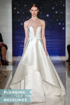 Plunging necklines: http://www.stylemepretty.com/2015/04/20/bridal-week-2015-top-trends/