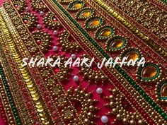 Magam Work Designs, Hand Designs, Bead Embroidery Tutorial, Beaded Embroidery, Mehndi Designs Feet, Hand Work Blouse Design, Embroidered Blouse, Blouse Designs, Sarees