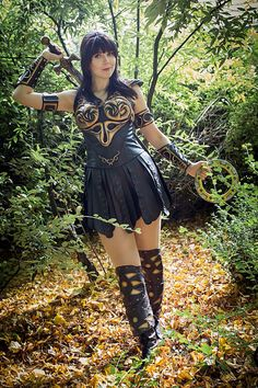 Xena: Warrior Princess  Cosplayed by Kamui Cosplay Photographed by ? Source: Kamui Cosplay via Facebook