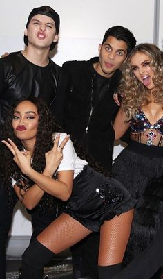 | Leigh & Perrie | Lerrie with some of the CNCO members