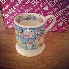 'New mug love #emmabridgewater #birthdaypresent'