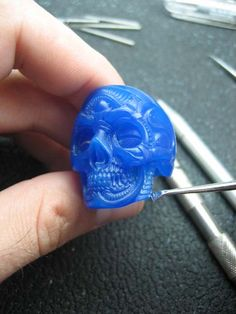 Skull ring tutorial 9 by flintlockprivateer.deviantart.com on @deviantART