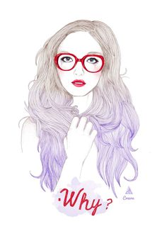 fashion glasses illustration - Google Search