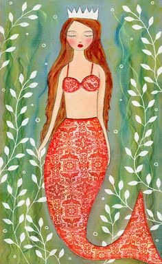 Searching for images of mermaids - one of the most beautiful I've seen so far.
