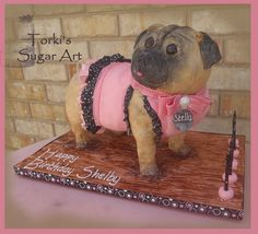 Shleby's pug - Stella2 by Torki's Sugar Art, via Flickr