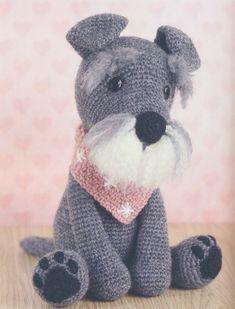 Gratis Haakpatroon Tochtrol Hond Amigurumi Crochet Crochet