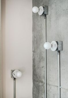 Luxury Industrial Loft Makeover industrial-living-room
