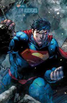 Tem horas que vc tem que ser o Superman, não dá pra encarar todo dia o mundo com sangue nos olhos