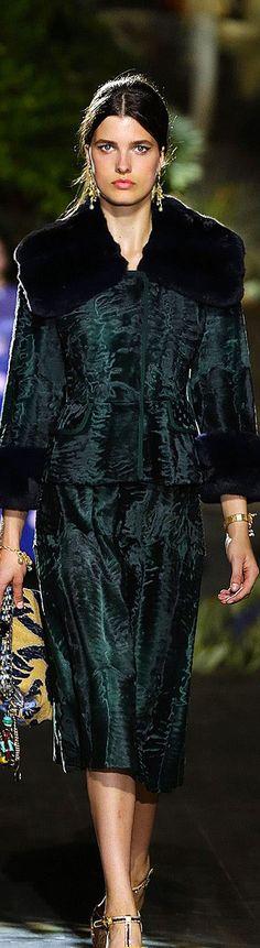 Dolce & Gabbana Alta Moda Fall/Winter 2015-2016 Fashion Show
