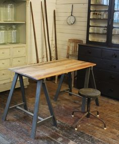 whose love for vintage inspired design fills the gap like no other online source does. We've also added our Mint List interior design service to the website so that you can browse through our exciting recent projects. Decor, Interior Design Services, Interior Design, Furniture, Vintage Inspired Design, Trestles, Vintage Industrial Furniture, Trestle Table, Home Decor
