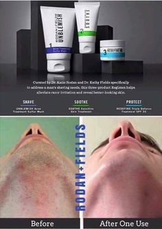 Skin care is not just for men and when they shave it should work beyond the…