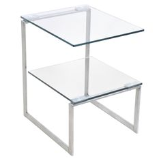 LumiSource Modern 6G End Table