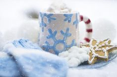 Brrrrr! Baby it's cold outside!  Keep warm on the first day of winter with a mug of hot chocolate