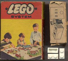 1958: The Lego company in Billund, Denmark, patents the stud-and-tube coupling system for Lego bricks on January 28. The new system makes models much more stable. Sloping roof tile bricks are featured.