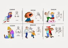 Libras atividades: Língua Portuguesa para Surdos