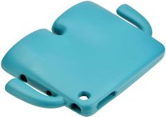 """Amazon.com: Teal Blue {Kid Proof Arms and Legs} Soft and Smooth Silicone Cute 3D Fitted Bumper Back Cover Gel Case for iPad Mini 1, 2 and 3 by Apple """"Durable and Slim Flexible Fashion Cover with Amazing Design"""": Computers & Accessories"""