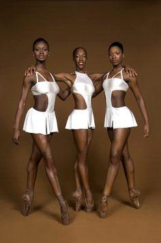 Beautiful beautiful beautiful black ballerinas.
