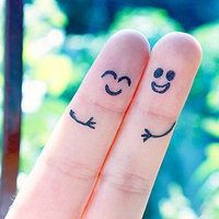 Smiley-Face-01 | Templates | Pinterest | Smiley faces ... |Finger Face Happy Coloring